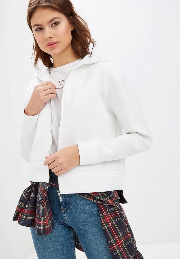 Купить Толстовка Guess Jeans, gu644eweasf0, белый, Весна-лето 2019
