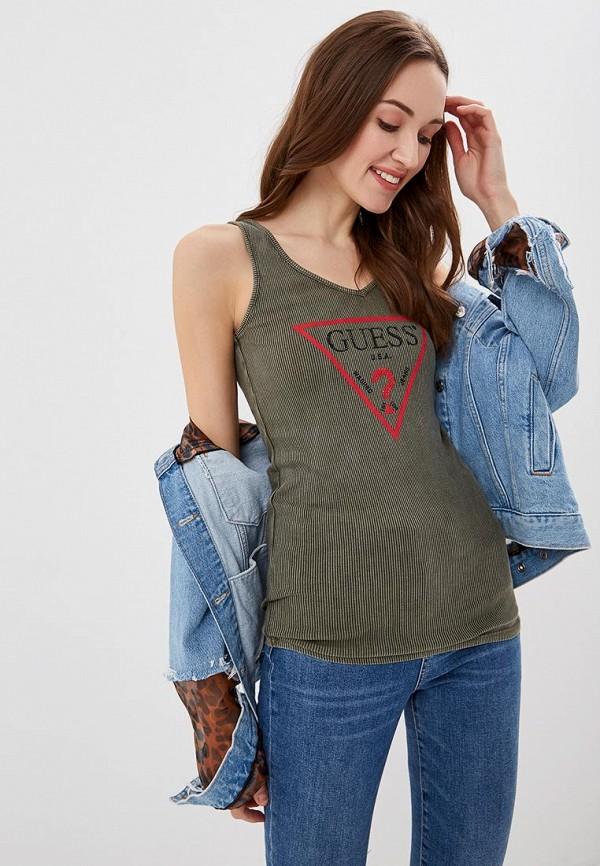 Майка Guess Jeans Guess Jeans GU644EWEASF8 майка guess w74i65 k1810 m94