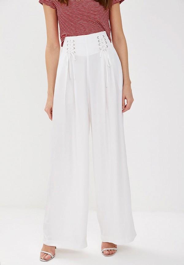 женские повседневные брюки guess, белые