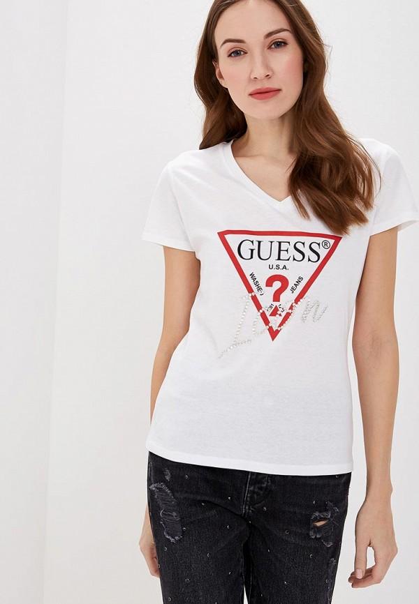 Футболка Guess Jeans Guess Jeans GU644EWEATA0 футболка guess m73i55 j1300 g720