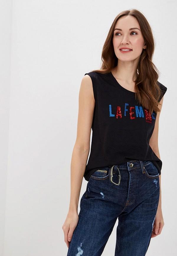 Купить Футболка Guess Jeans, gu644eweatb9, черный, Весна-лето 2019