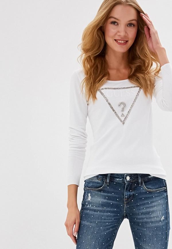 Фото - Джемпер Guess Jeans белого цвета