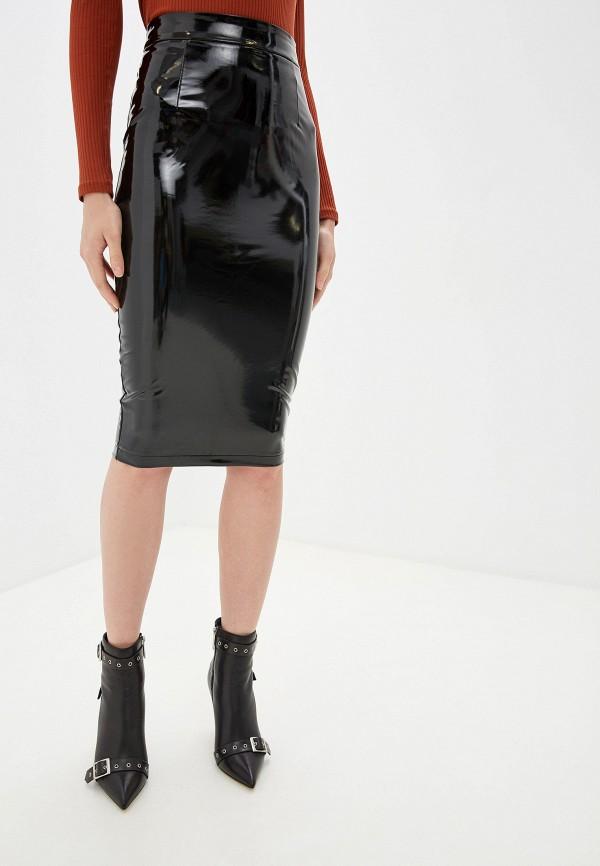 женская юбка guess, черная