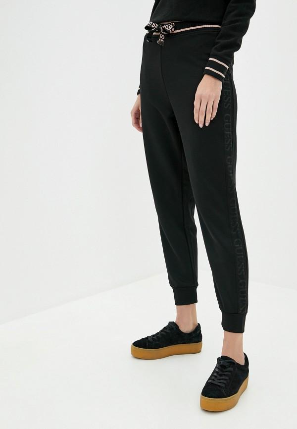 женские спортивные брюки guess, черные
