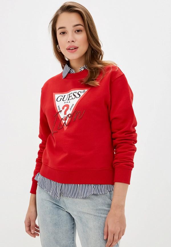 Свитшот Guess Jeans Guess Jeans GU644EWGHAJ5 цены онлайн