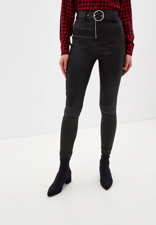 женские повседневные брюки guess, черные
