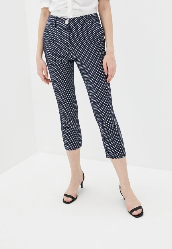 женские повседневные брюки guess, синие
