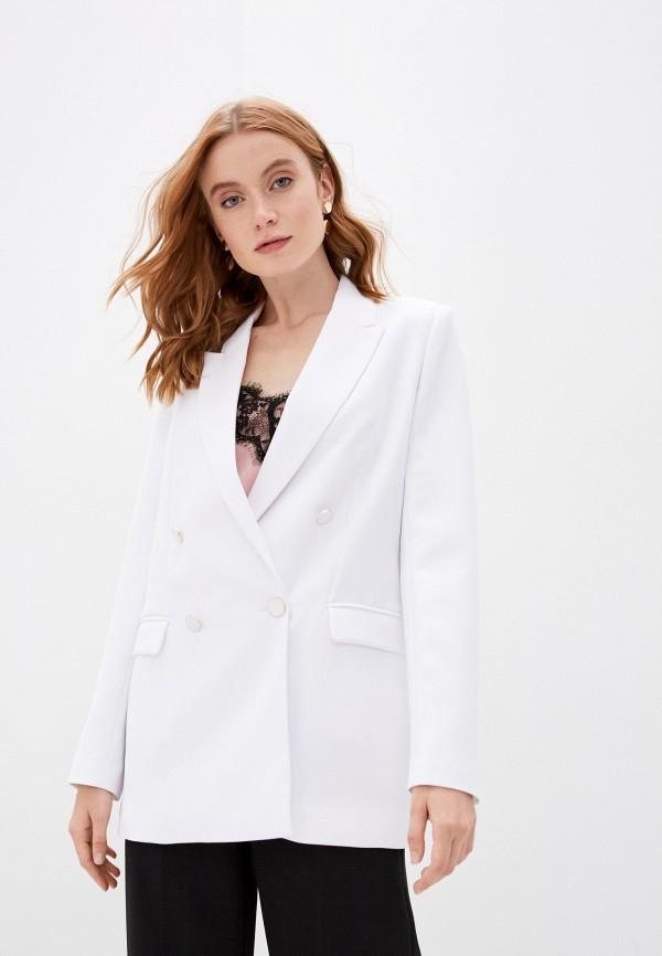 женский пиджак guess, белый