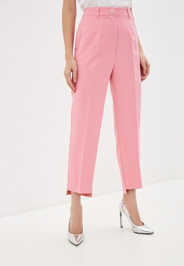 женские повседневные брюки guess, розовые