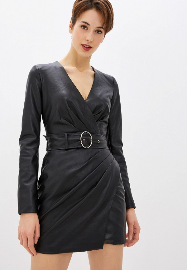 женское платье guess, черное