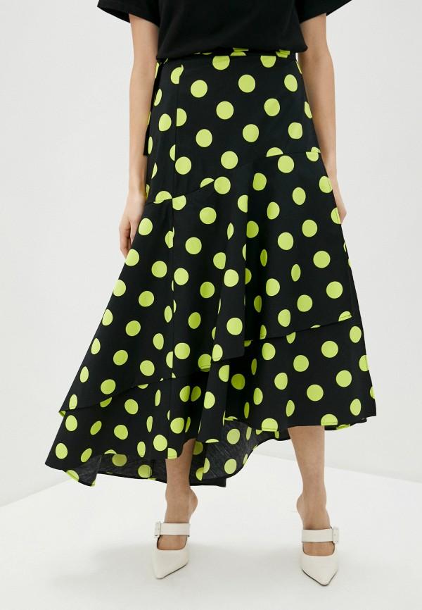 женская юбка guess, зеленая