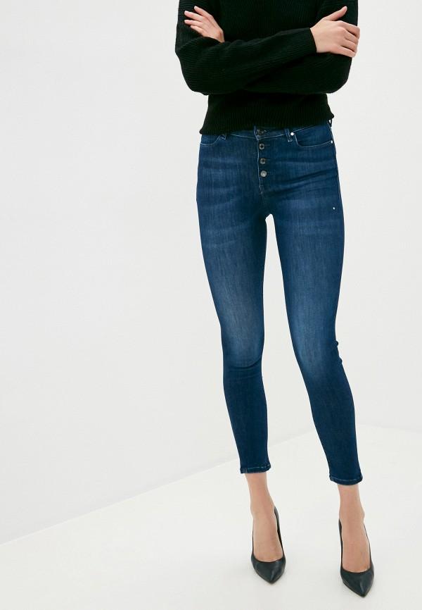 женские джинсы guess, синие