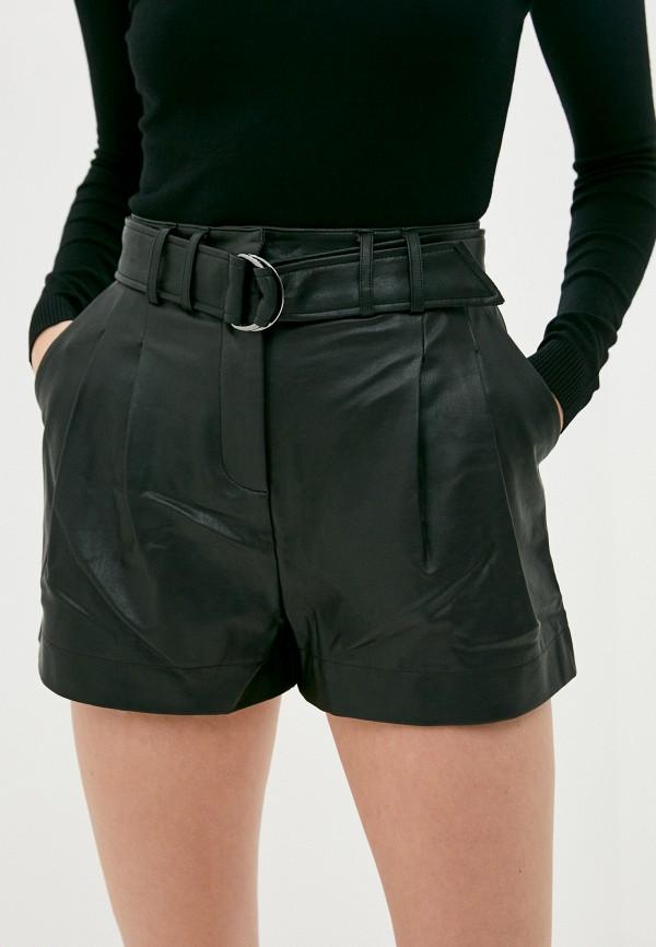женские повседневные шорты guess, черные