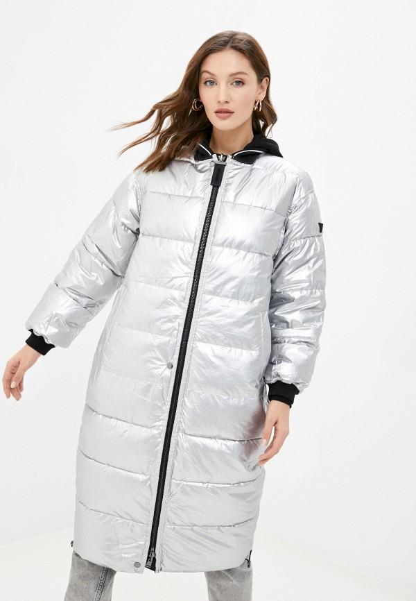 женская куртка guess, разноцветная
