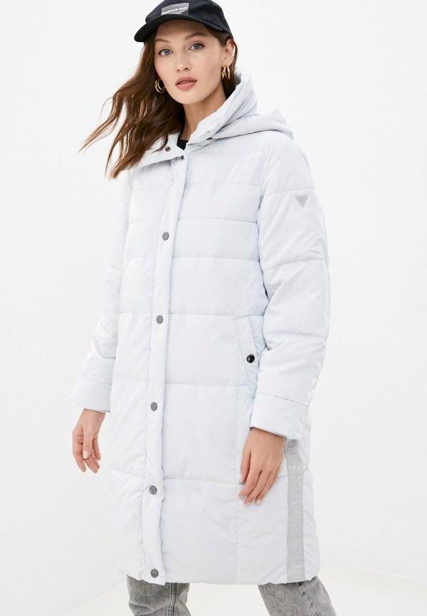 женская куртка guess, серая