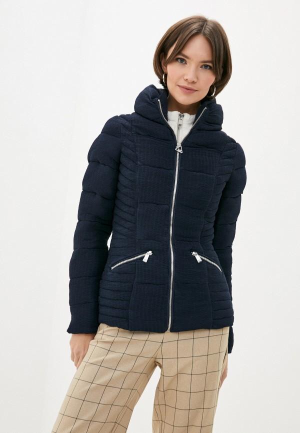 женская куртка guess, синяя