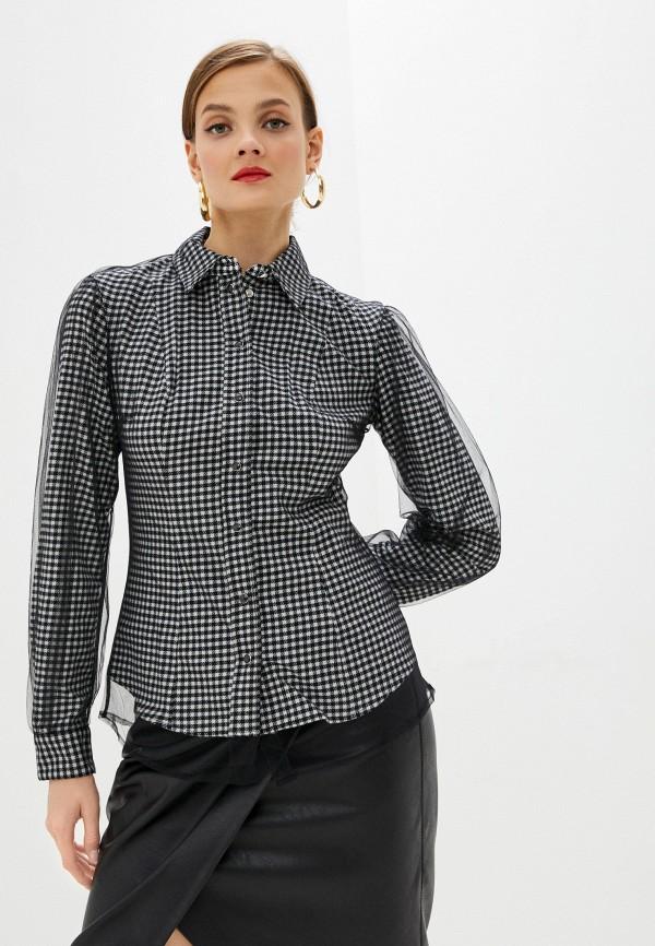 женская блузка guess, черная