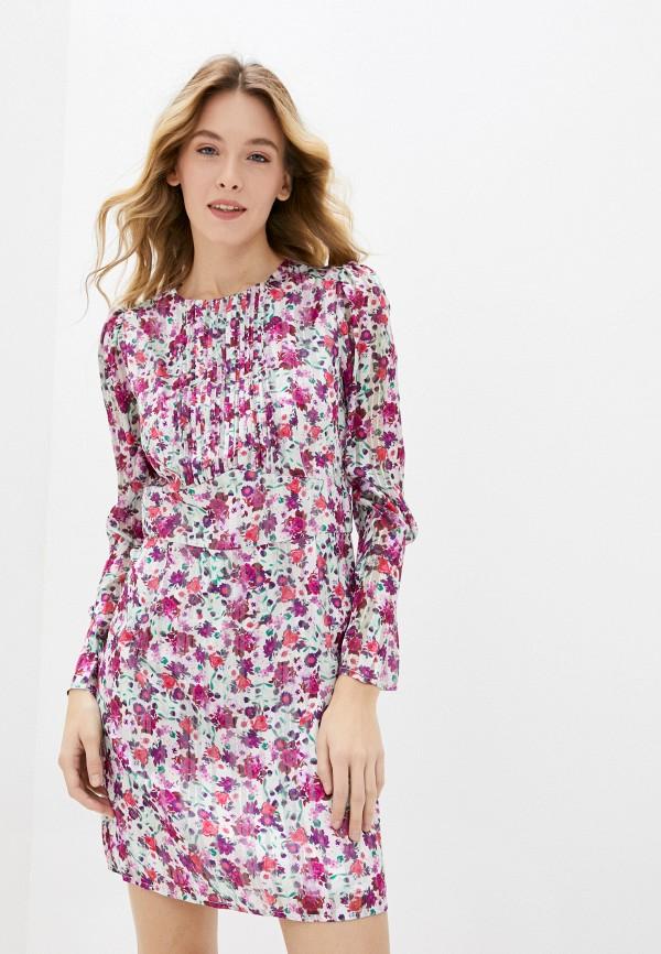 женское повседневные платье guess, разноцветное
