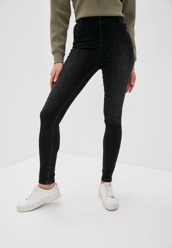 женские джинсы guess, черные
