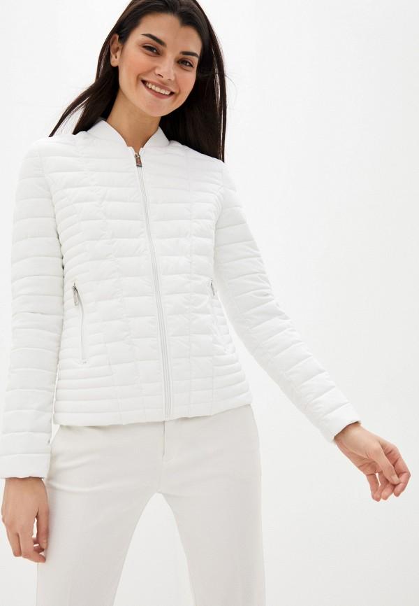 женская куртка guess, белая