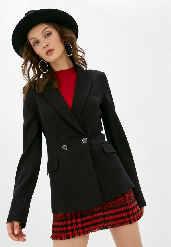 женский пиджак guess, черный