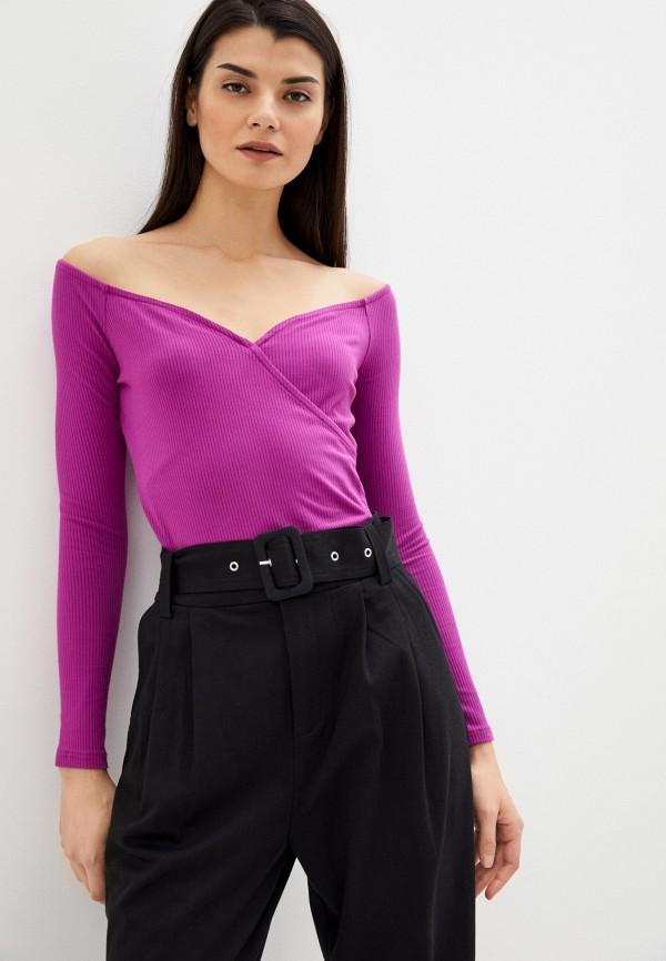женская блузка guess, фиолетовая