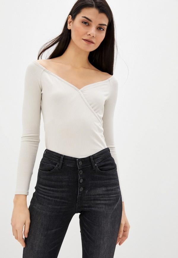 женская блузка guess, бежевая