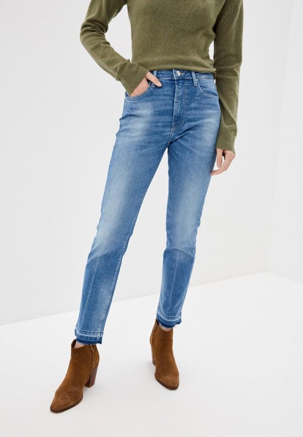женские джинсы скинни guess, голубые