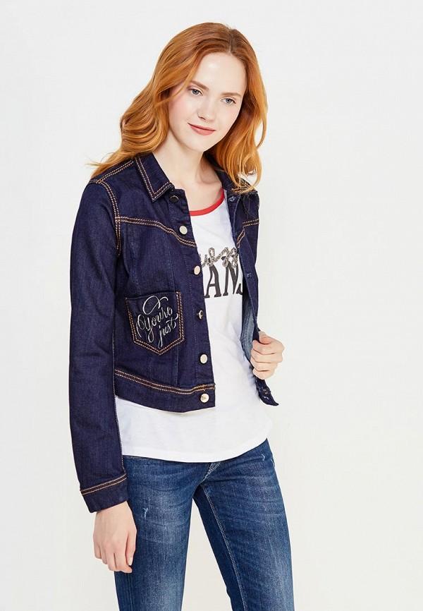 Куртка джинсовая Guess Jeans Guess Jeans GU644EWVPL62 куртка утепленная guess jeans guess jeans gu644emxzg43