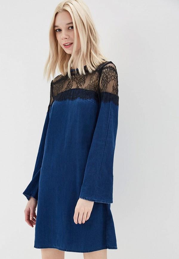 Купить Платье джинсовое Guess Jeans, gu644ewztz40, синий, Весна-лето 2018