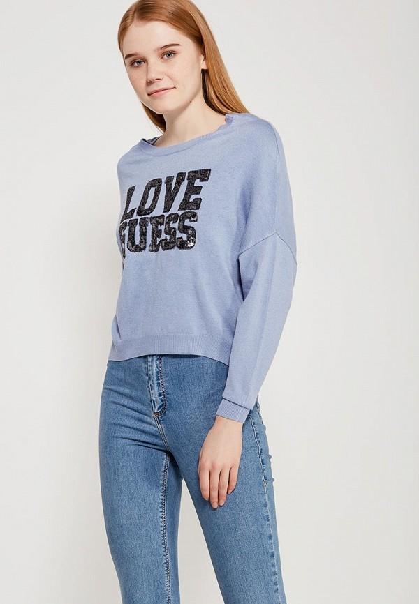 Купить Джемпер Guess Jeans, gu644ewztz85, голубой, Весна-лето 2018