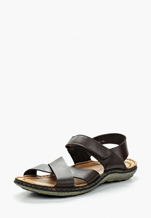 мужские сандалии happy family, коричневые