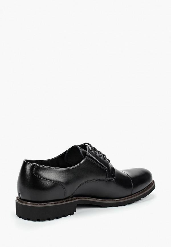 Фото 2 - мужские туфли Happy Family черного цвета