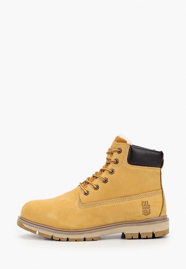 мужские ботинки happy family, желтые