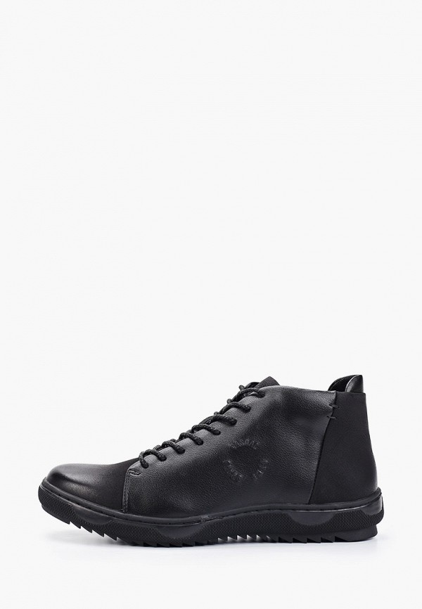 мужские ботинки happy family, черные