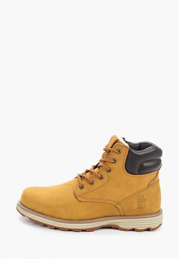 мужские ботинки happy family, бежевые