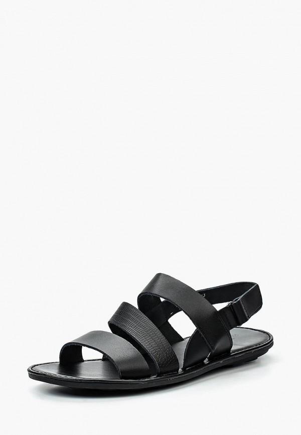 мужские сандалии happy family, черные