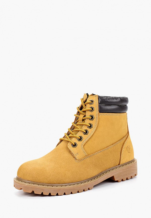Купить Ботинки Happy Family, ha016awcalp2, желтый, Осень-зима 2018/2019