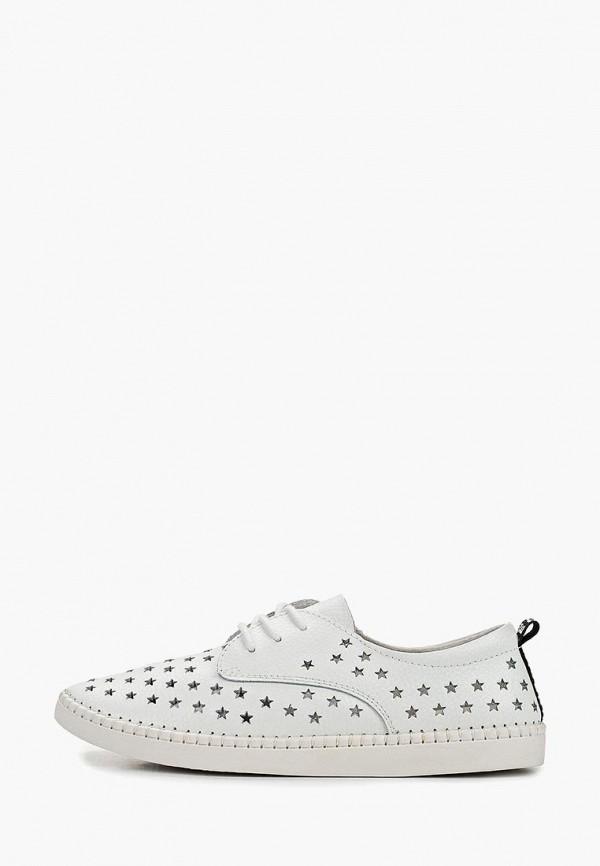 женские ботинки happy family, белые