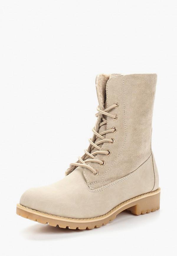 Купить Ботинки Haily's, ha022awanjb6, бежевый, Осень-зима 2018/2019