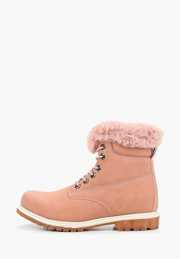 женские ботинки haily's, розовые