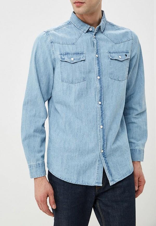 мужская джинсовые рубашка haily's, голубая
