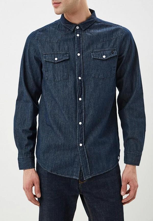 мужская джинсовые рубашка haily's, синяя