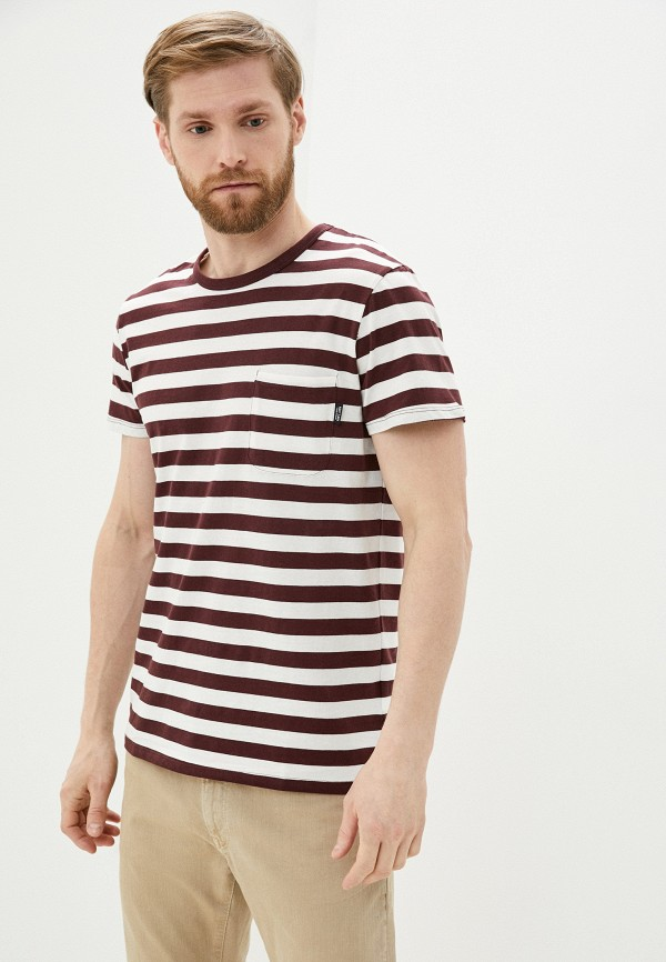 мужская футболка с коротким рукавом haily's, разноцветная