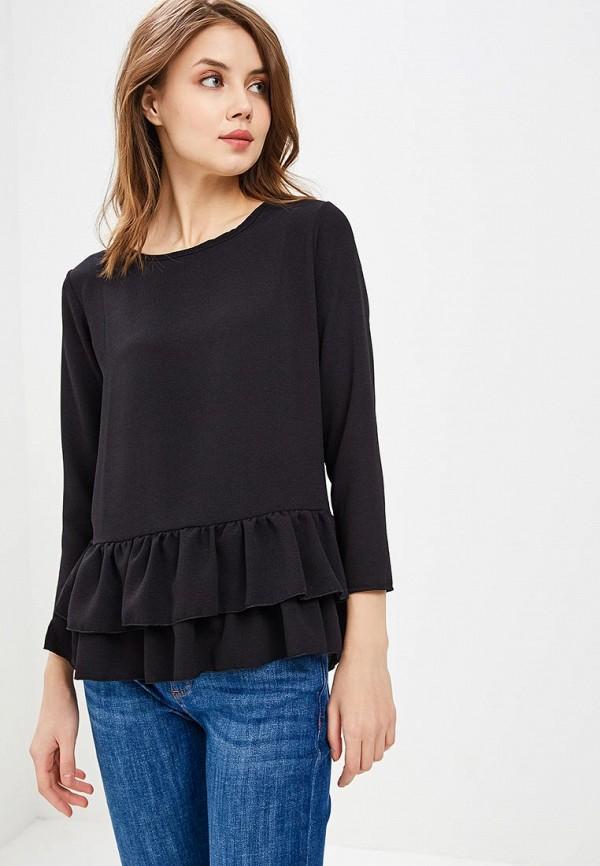 Купить Блуза Haily's, ha022ewaniz5, черный, Осень-зима 2018/2019