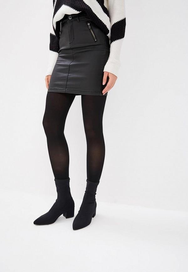 женская прямые юбка haily's, черная