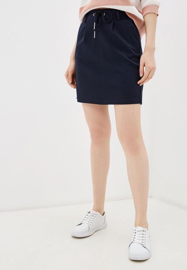 женская прямые юбка haily's, синяя