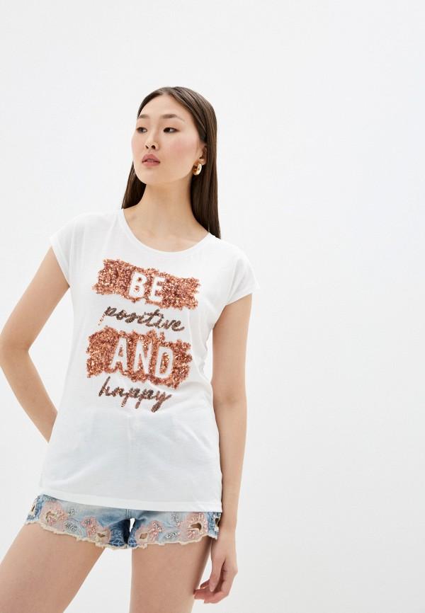 женская футболка haily's, белая