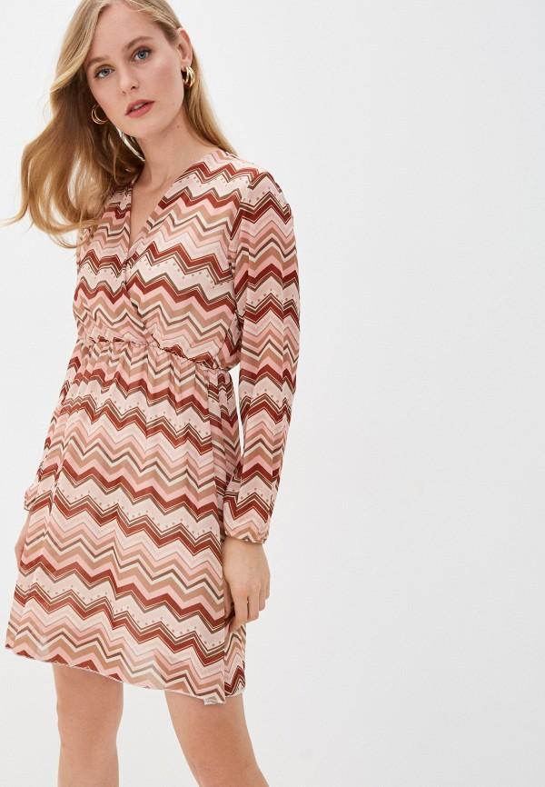 женское повседневные платье haily's, розовое