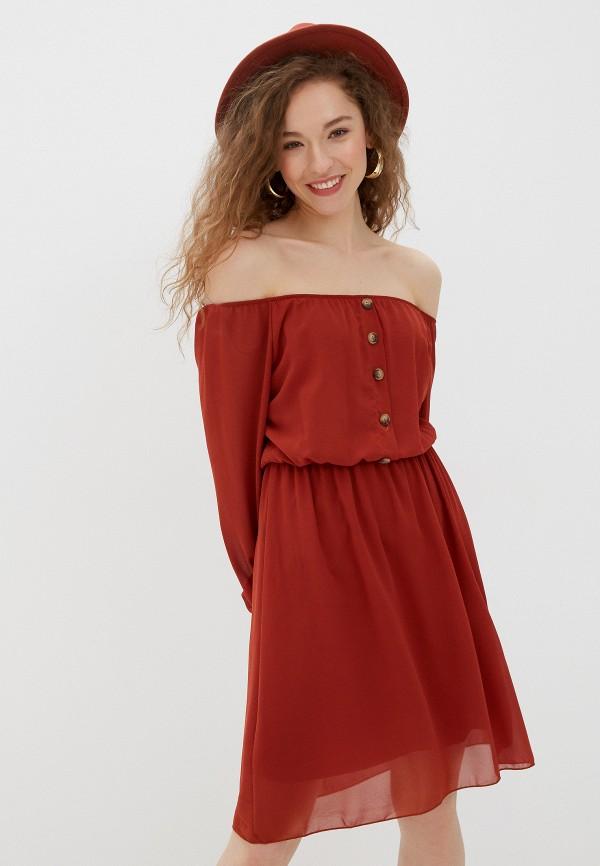 женское платье haily's, красное